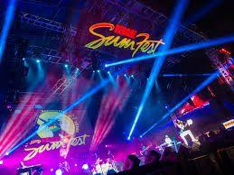 reggae sumfest stage and lights